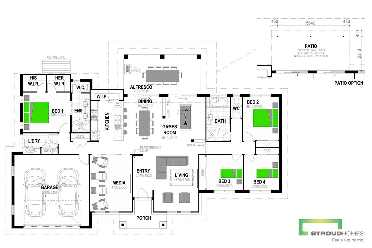 Kentucky 260 Mountain Floor Plan