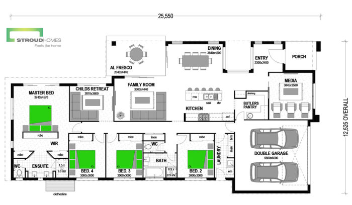 Waterlily 256 Urban Floor Plan
