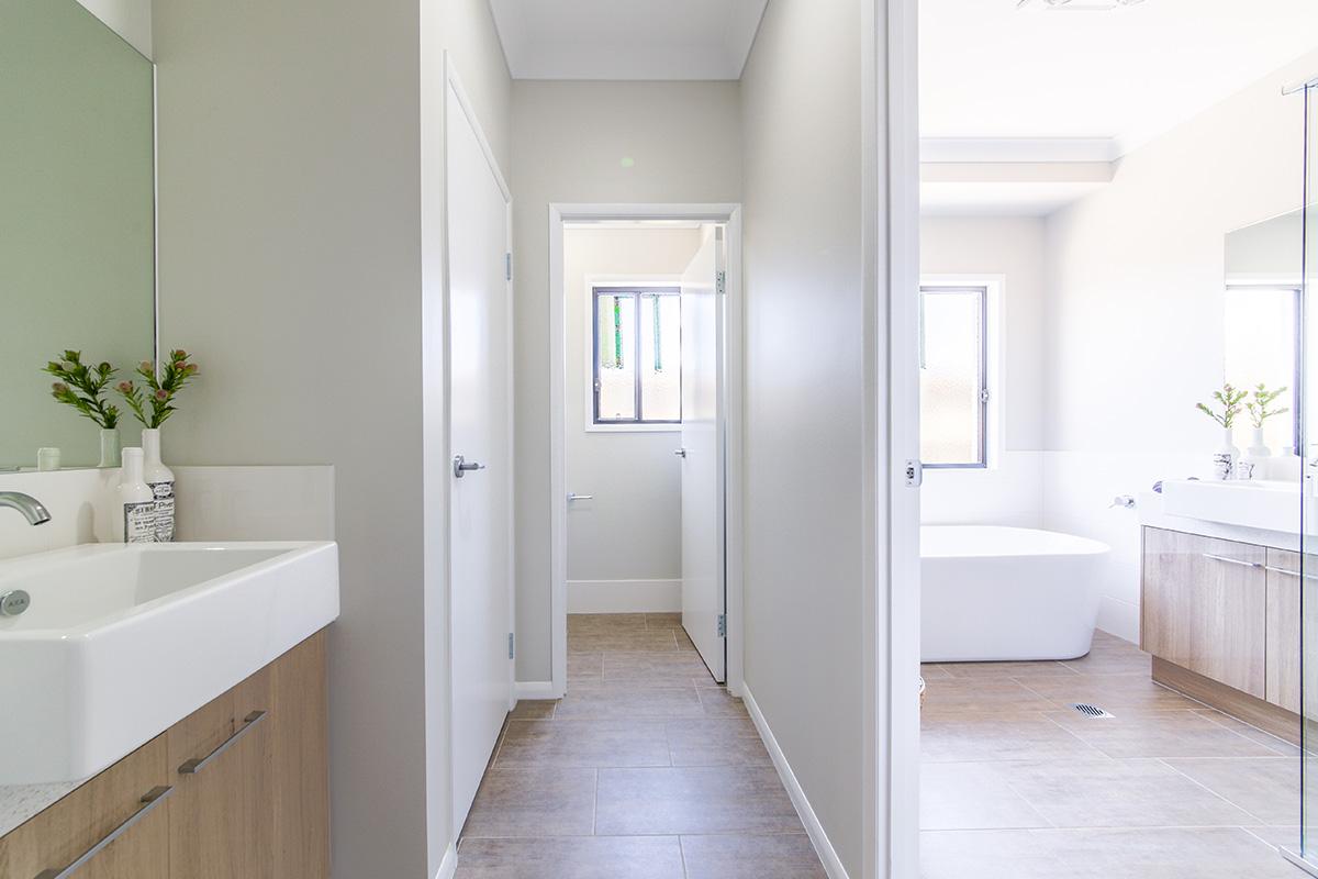Functional bathrooms