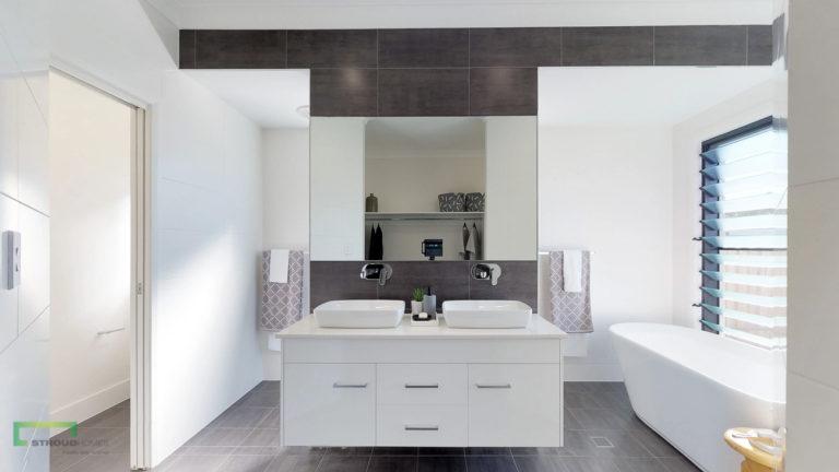 Stroud Homes Port Macquarie HIA Award Winner Bathroom Design for Wildflower 274 image