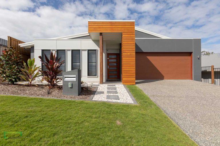 Stroud Homes Gold Coast MBA Regional Award Winner Bronte 240 Skillion Façade image