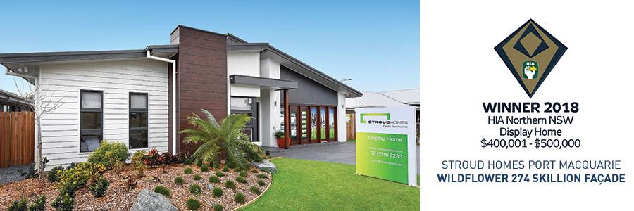 Stroud Homes Port Macquarie HIA Northern NSW Winner – Display Home $400K – $500K  for Wildflower 274