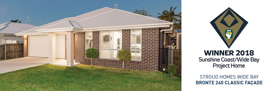 Stroud Homes Wide BayHIA Award Project Home Bronte 240