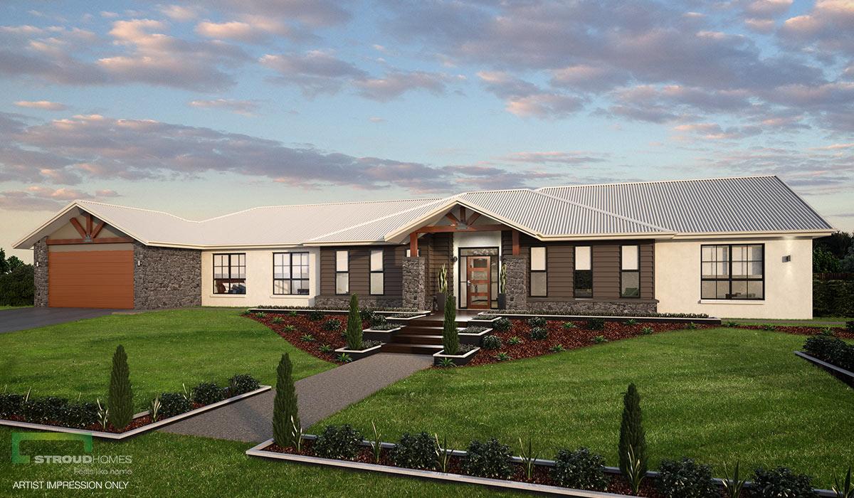 Vermilion 312 4 Bed Acreage Home Design Stroud Homes