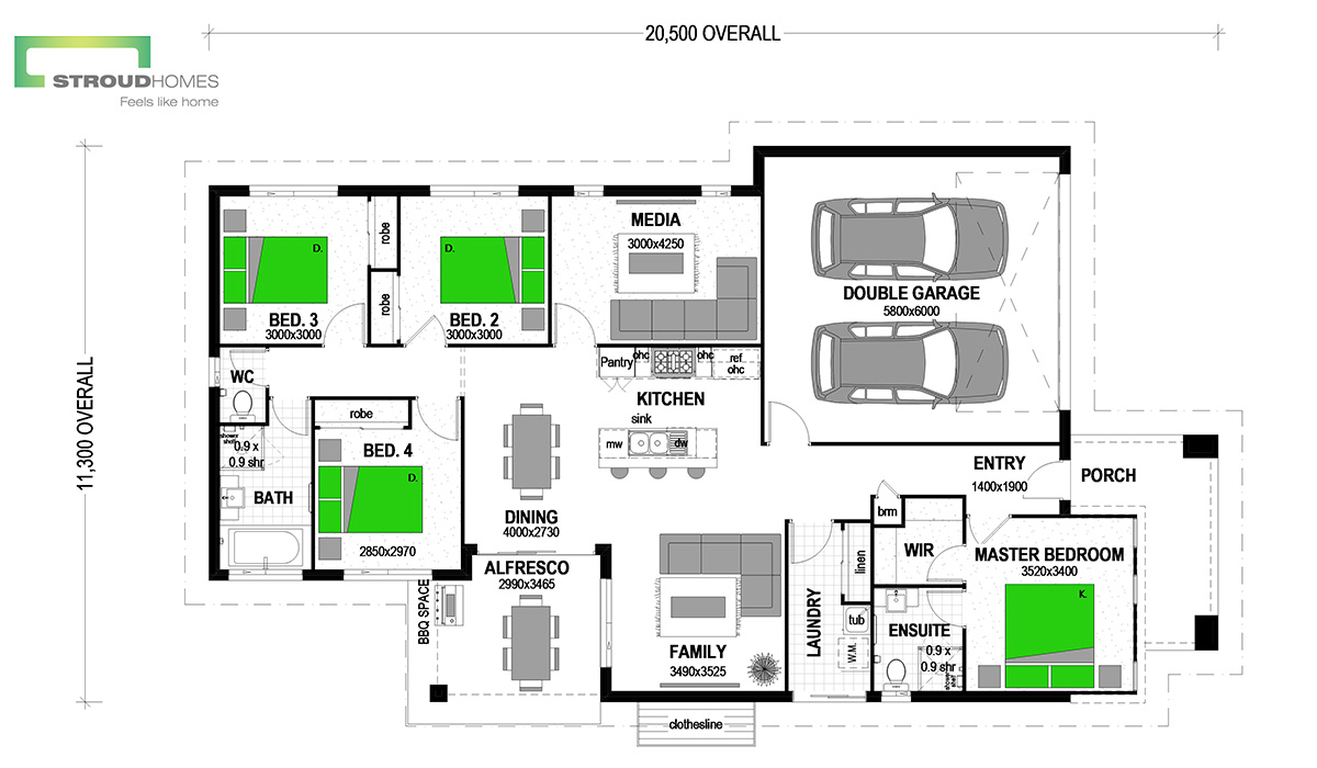 Como 186 Coast Floor Plan