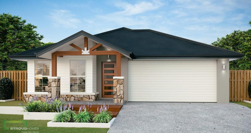 Elwood 234 Alpine Façade (Diggers Rest Display Home)