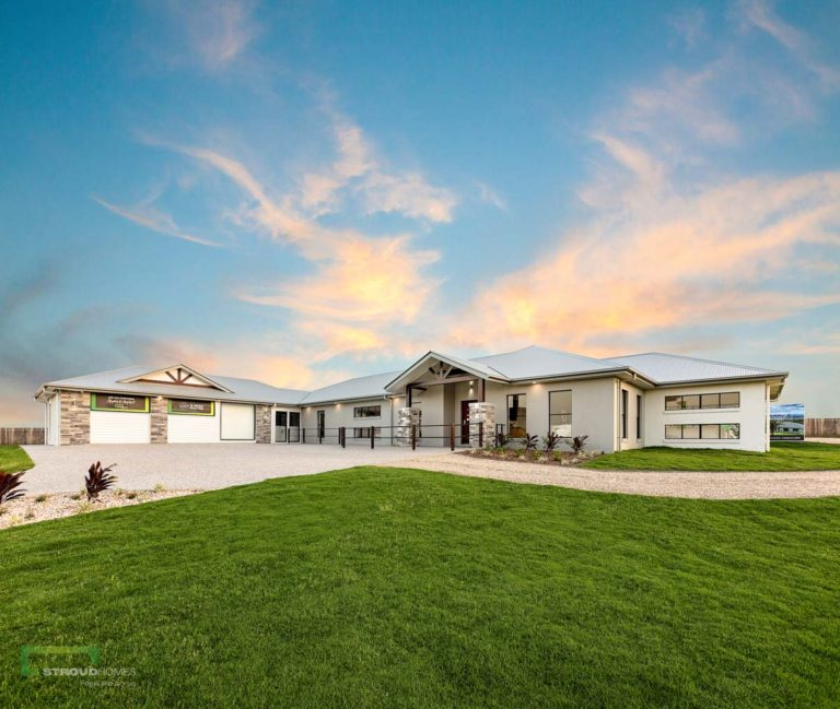 Stroud Homes Brisbane South Acreage – 2019 MBA QLD – Regional Award Winner – Best Use Of Steel Frame – Montego 393 Mountain image