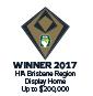 Stroud Homes Brisbane North HIA Award Winner Display Home Aston 168 award logo