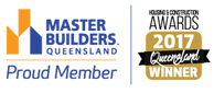 Stroud Homes Bundaberg MBA Award for the Wildflower 190 award logo