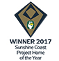 Stroud Homes Sunshine Coast HIA Award Winner Project Home Montego 287 award logo