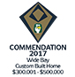 Stroud Homes Wide Bay HIA Award Commendation Custom Build Savannah 262 award logo