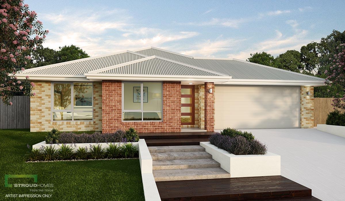 Wildflower 274 Home Design Classic Façade