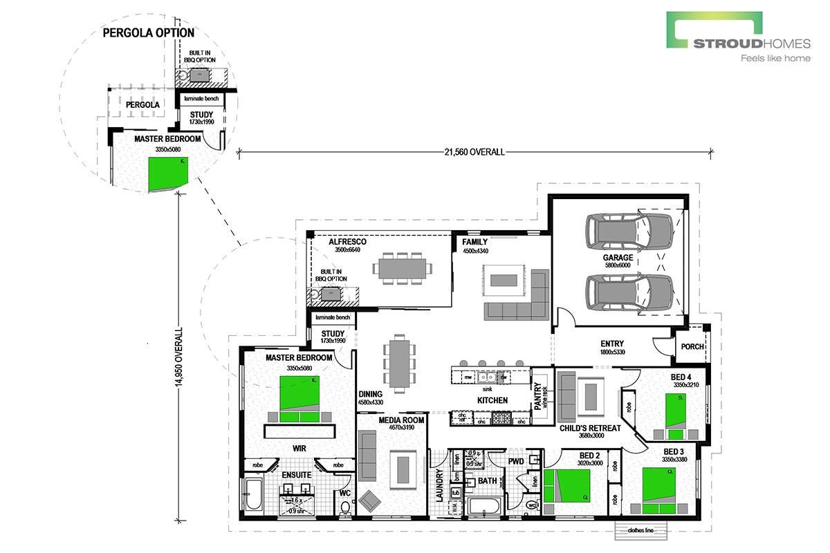 Wildflower 274 Classic Floor Plan