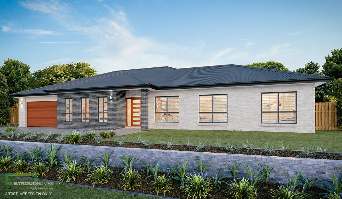 Inverell 280 Acreage Home Design Stroud Homes