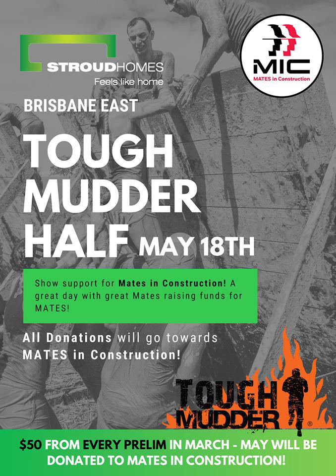 Tough Mudder MATES in Construction Flyer