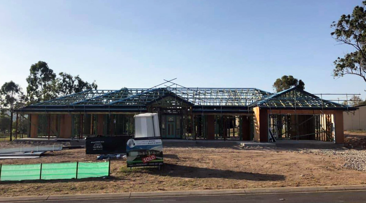 New larger home being built in Ipswich