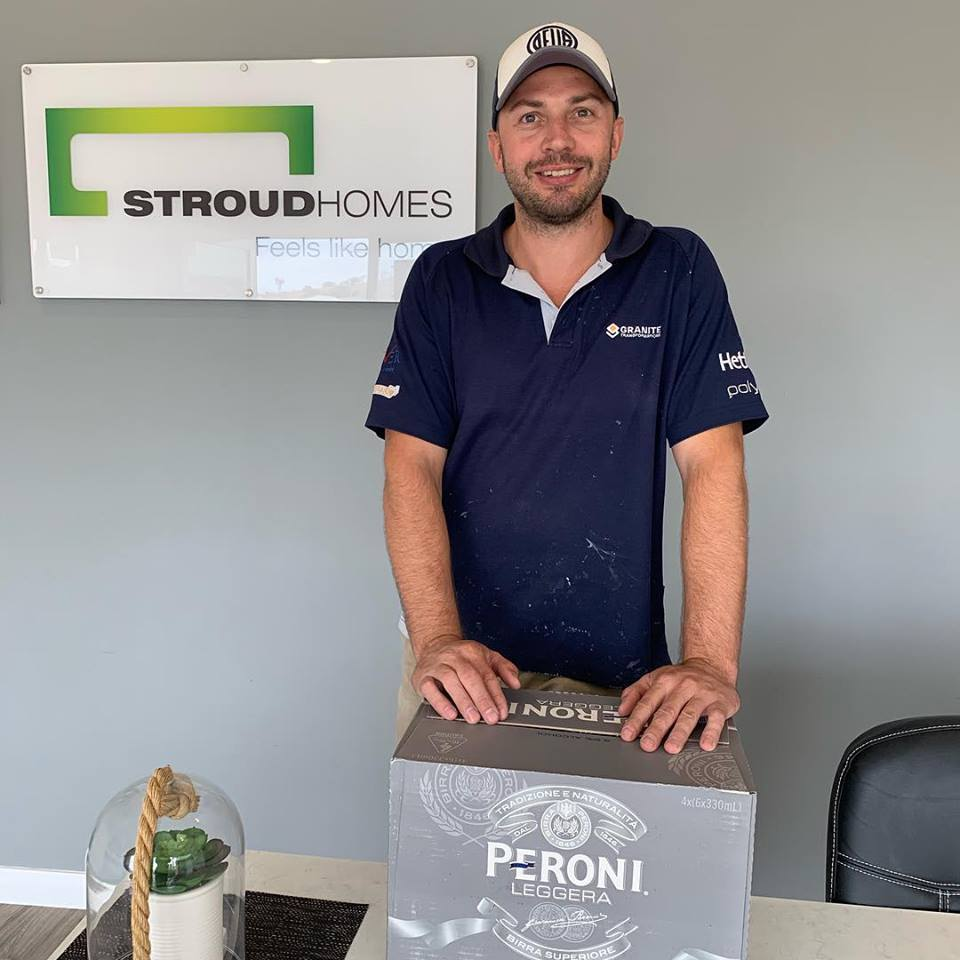 Tradie of the month Trent Picciolo