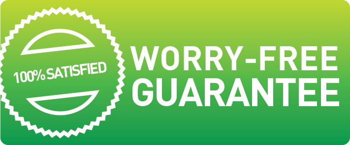 Worry-Free Guarantee