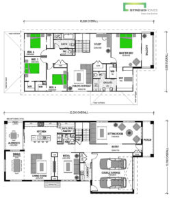Bunjil 365 Two Storey Classic Floor Plan