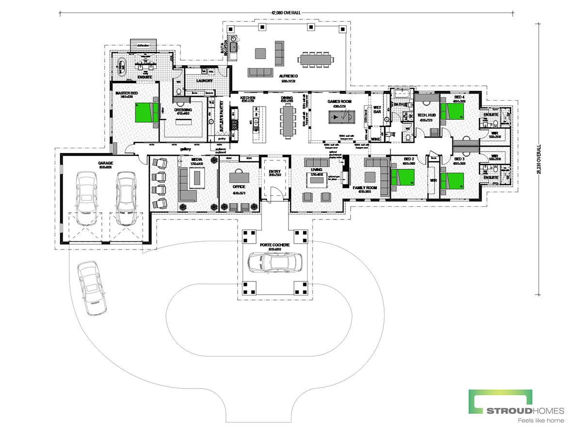 Kentucky 600 Grande Mountain Floor Plan