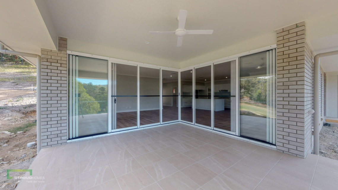 Stroud Homes Gold Coast North Acreage Sloped Block New Home Build-30