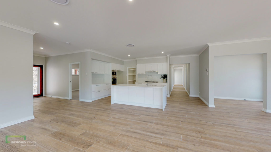 Stroud Homes Gold Coast North Acreage Sloped Block New Home Build-52