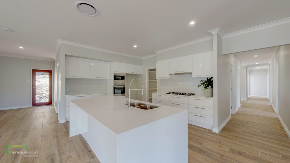 Stroud Homes Gold Coast North Acreage Sloped Block New Home Build-78