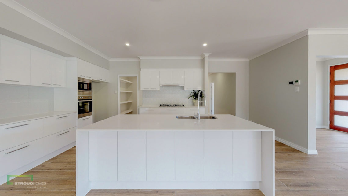 Stroud Homes Gold Coast North Acreage Sloped Block New Home Build-79