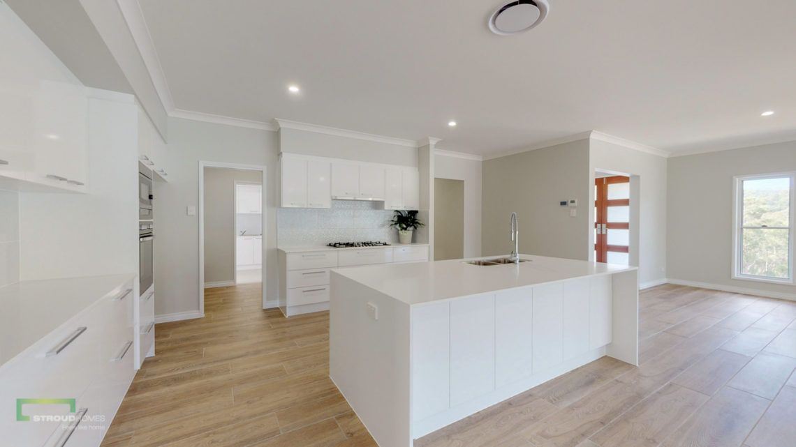 Stroud Homes Gold Coast North Acreage Sloped Block New Home Build-80