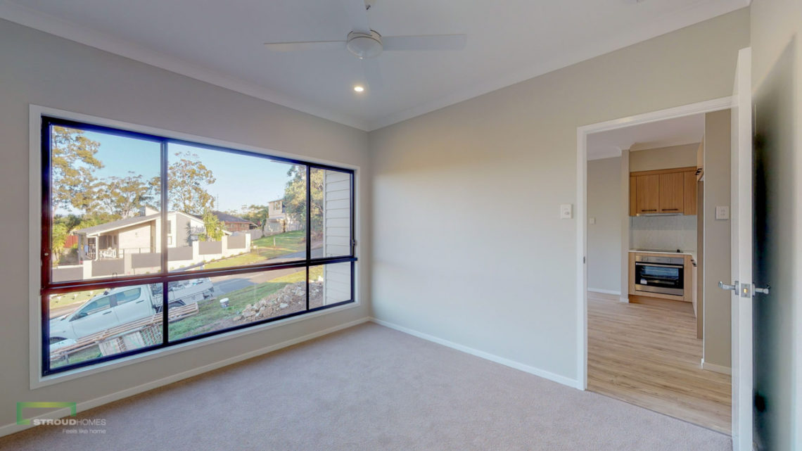 Stroud Homes Gold Coast South Benowa Sloped Block New Home Build-10