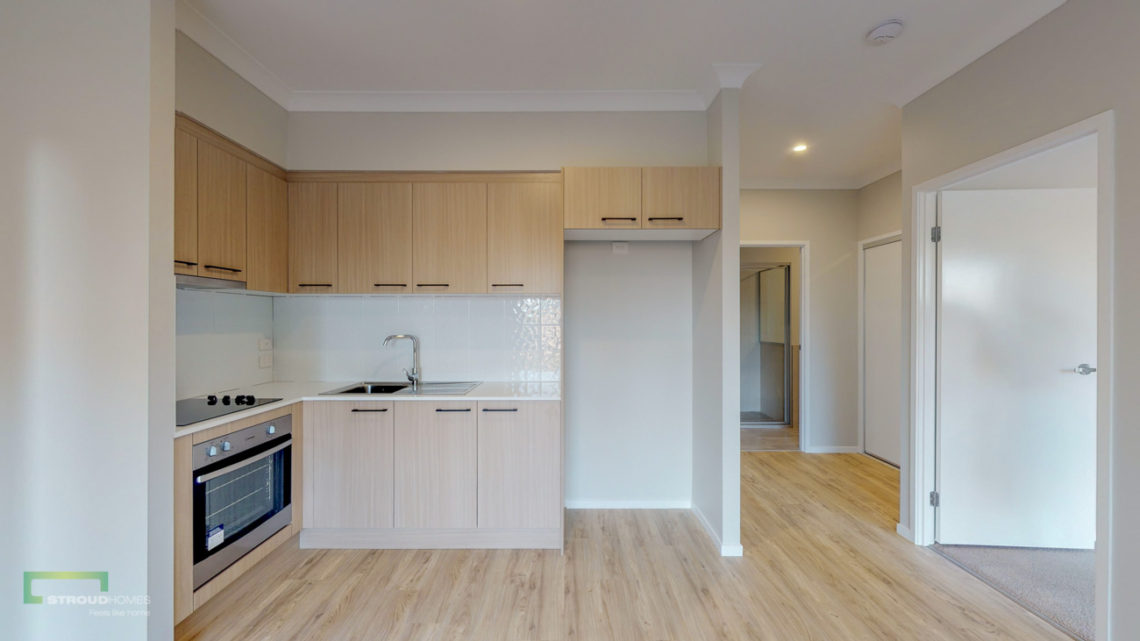 Stroud Homes Gold Coast South Benowa Sloped Block New Home Build-12