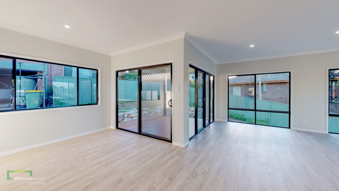 Stroud Homes Gold Coast South Benowa Sloped Block New Home Build-54