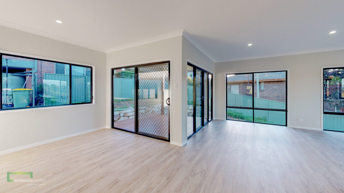 Stroud Homes Gold Coast South Benowa Sloped Block New Home Build-59