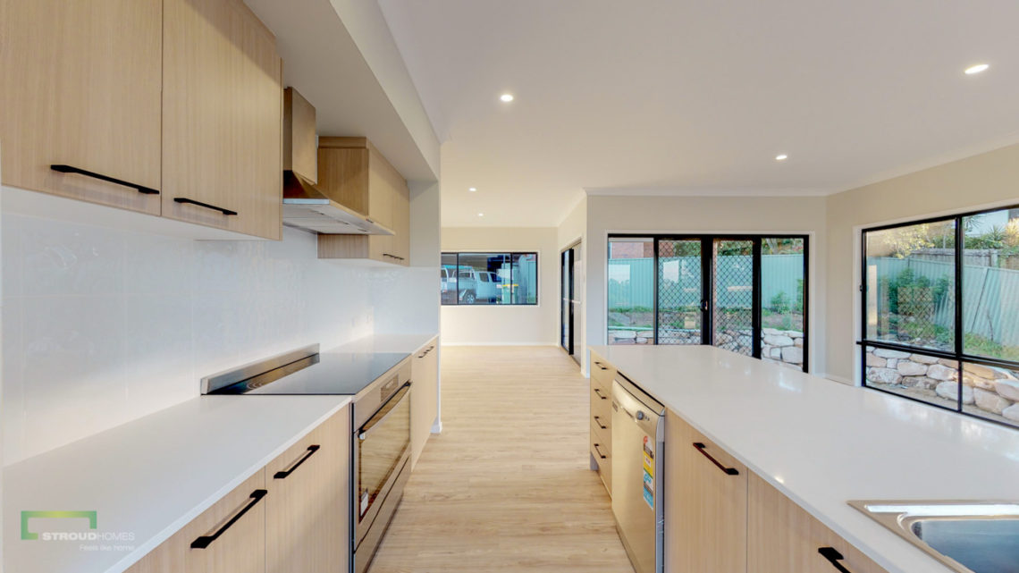 Stroud Homes Gold Coast South Benowa Sloped Block New Home Build-62