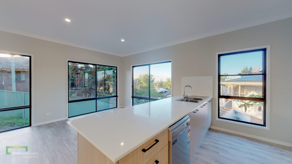 Stroud Homes Gold Coast South Benowa Sloped Block New Home Build-64