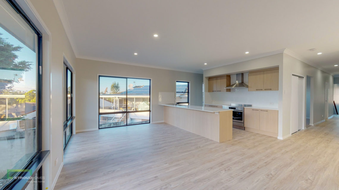 Stroud Homes Gold Coast South Benowa Sloped Block New Home Build-77