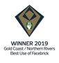 Stroud Homes Brisbane South 2019 HIA Gold Coast/Northern Rivers Housing Awards – Best Use of Facebrick Brisbane South Beechmont 220 & GF Federation Façade award logo