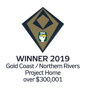 Stroud Homes Brisbane South 2019 HIA Gold Coast/Northern Rivers Housing Awards – Project Home Over $300 000 award logo