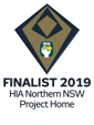 Stroud Homes Coff Harbour 2019 HIA Northern NSW Housing Awards – Project Home Of The Year Finalist award logo