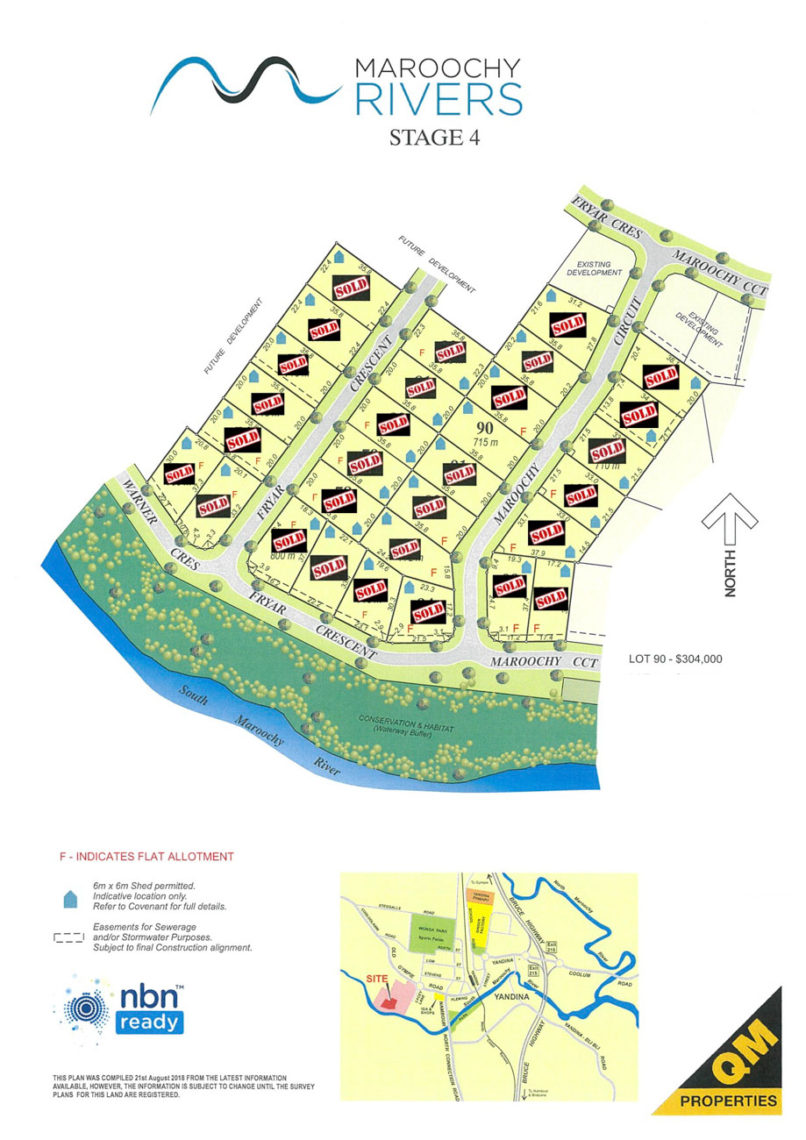 Maroochy Rivers Yandina final blocks for sale-3