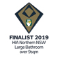 Stroud Homes Port Macquarie 2019 HIA Northern NSW Housing Awards – Large Bathroom Of The Year Finalist award logo