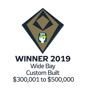 Stroud Homes Wide Bay 2019 HIA Sunshine Coast/Wide Bay Awards – Custom Built Home $300,001 to $500,000 award logo
