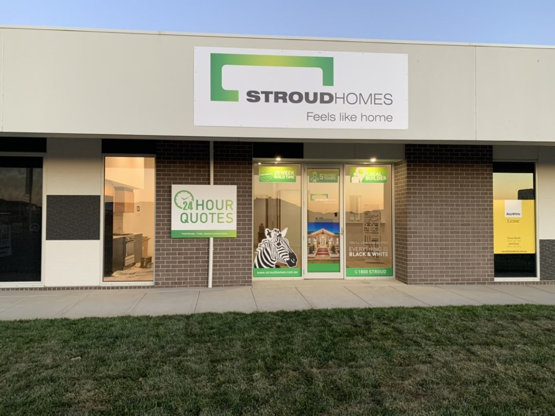 Stroud Homes Ballarat Display Centre Shop Front
