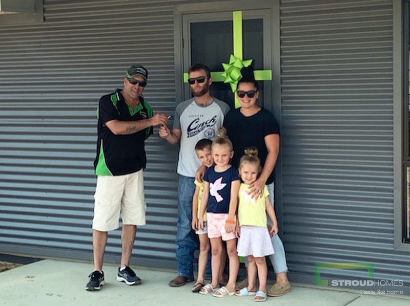 Stroud-Homes-Wagga-Wagga-Handover-James-Holly-Colorbond-Custom-Home